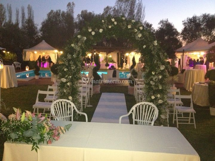 Villa I Girasoli Matrimonio : Rito civile in loco di villa i girasoli foto