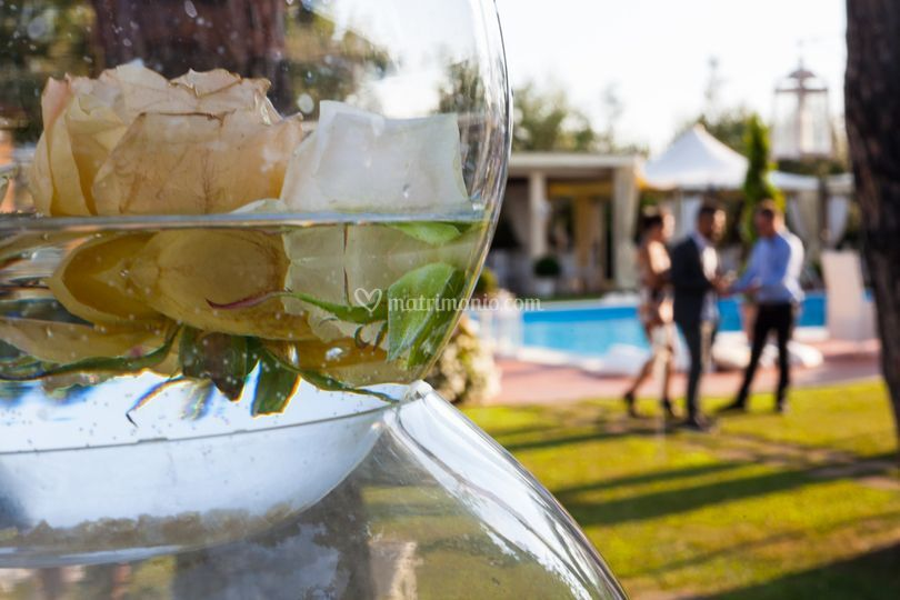 Villa I Girasoli Matrimonio : Dettaglio decorazioni di villa i girasoli foto