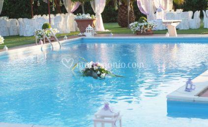 Villa i girasoli for Matrimonio bordo piscina