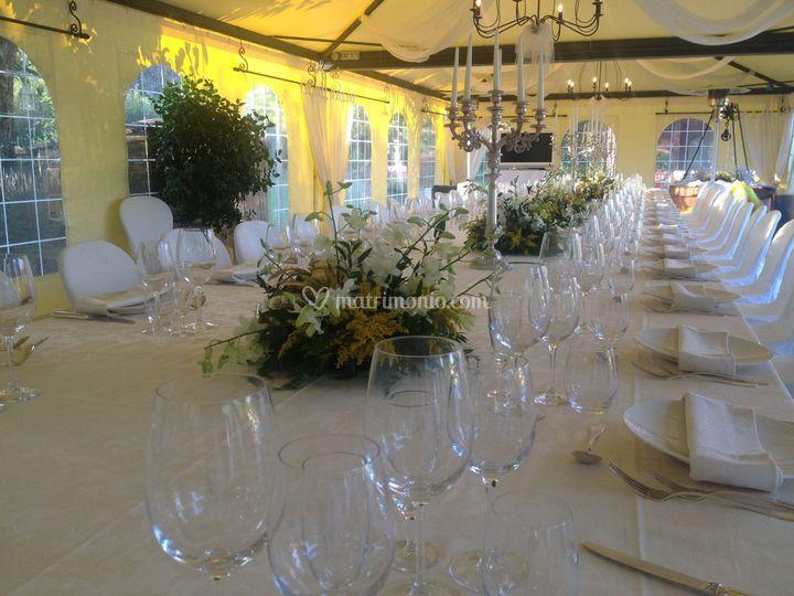 Villa I Girasoli Matrimonio : Allestimento di villa i girasoli foto