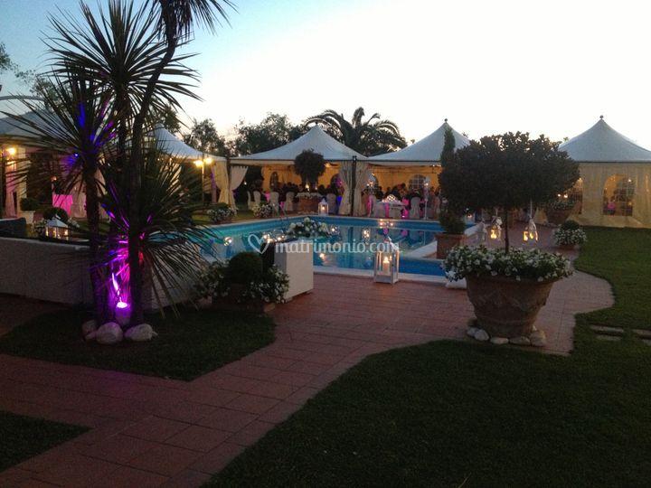 Villa I Girasoli Matrimonio : Tramonto di villa i girasoli foto