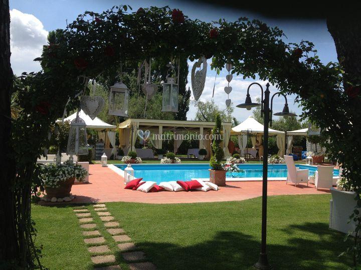 Villa I Girasoli Matrimonio : Particolare di villa i girasoli foto