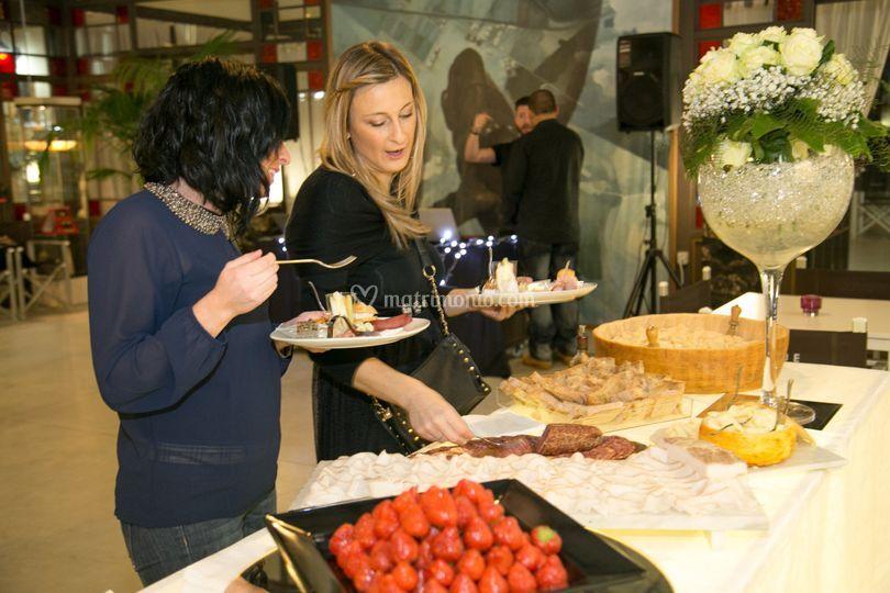 Parmigiano e fragole