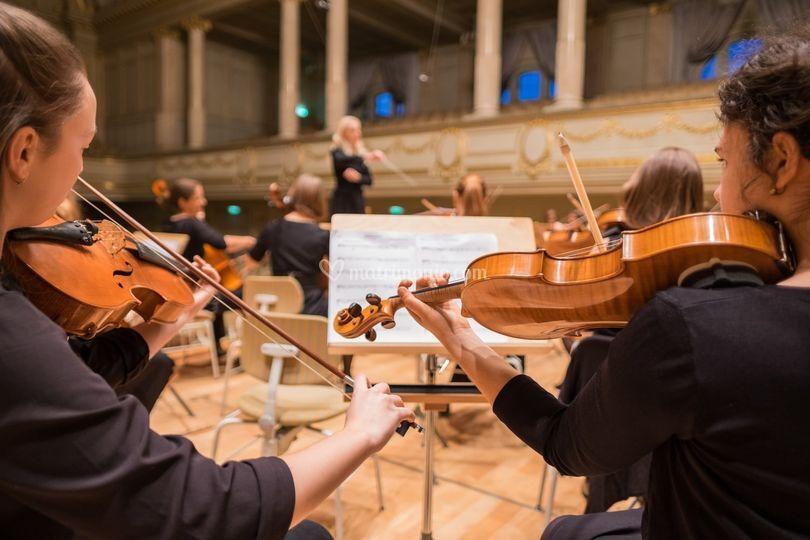 Orchestra allargata