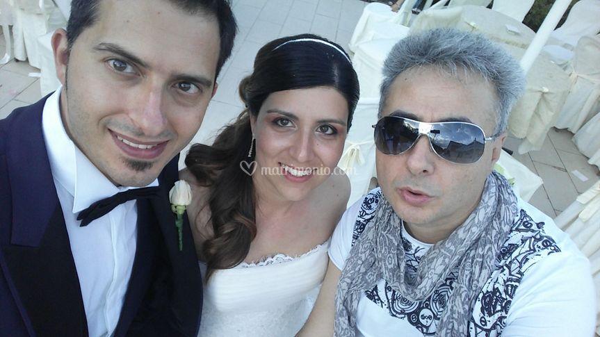 Gli sposi i protagonisti