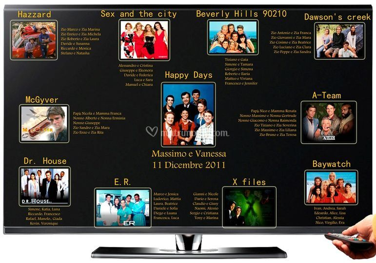 Matrimonio Tema Serie Tv : Artableau