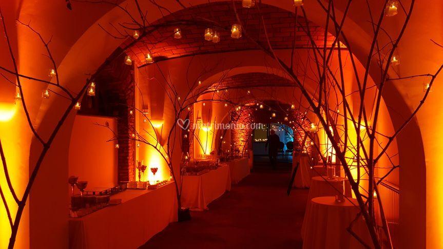 Sala Antica Illuminata