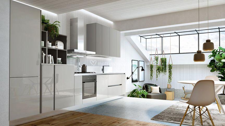 Cucina Lucida modello Colors