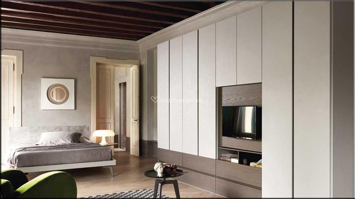 Camera da Letto con porta tv di Fontana Arreda | Foto 15