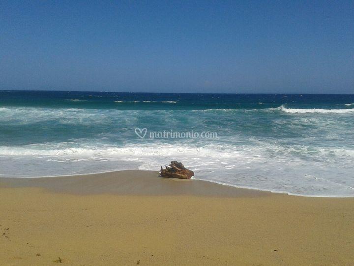 Spiaggia in Corsica