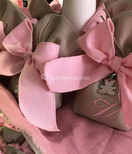 Bomboniere rosa