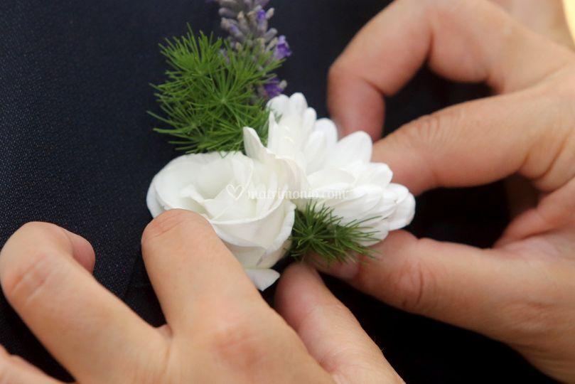 Dettaglio sposo