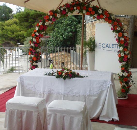 Matrimonio Simbolico Bologna : Le calette eventi