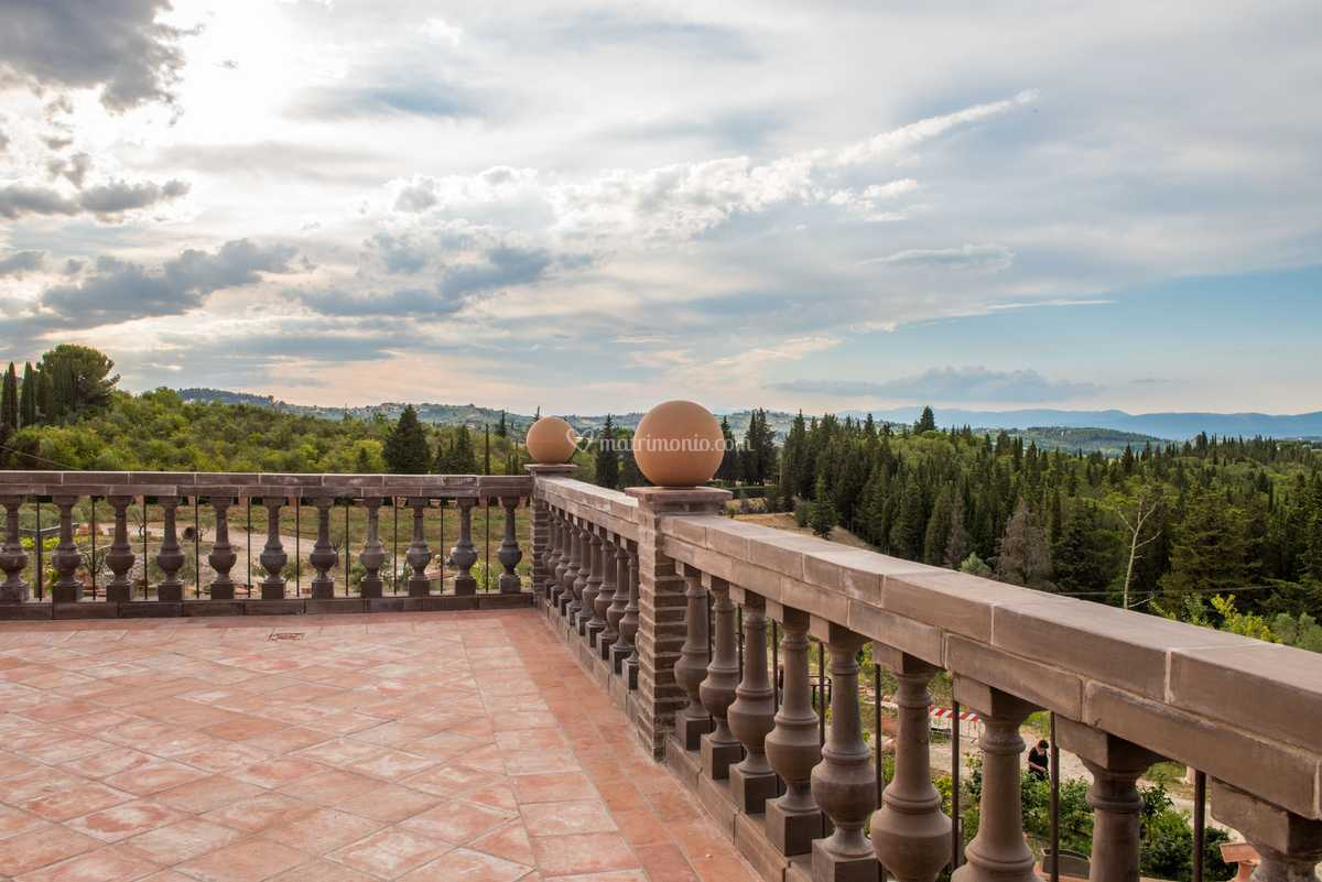 Terrazza E Panorama Di Nel Giardino Di Zago Foto 11