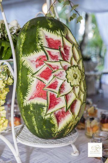 Dettaglio coreografie  frutta