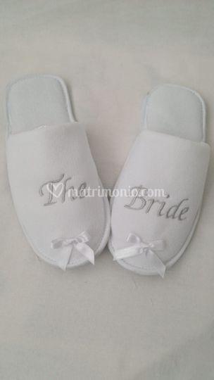 Pantofole Sposi personalizzate