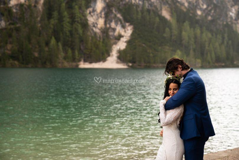 Matrimonio lago di braies