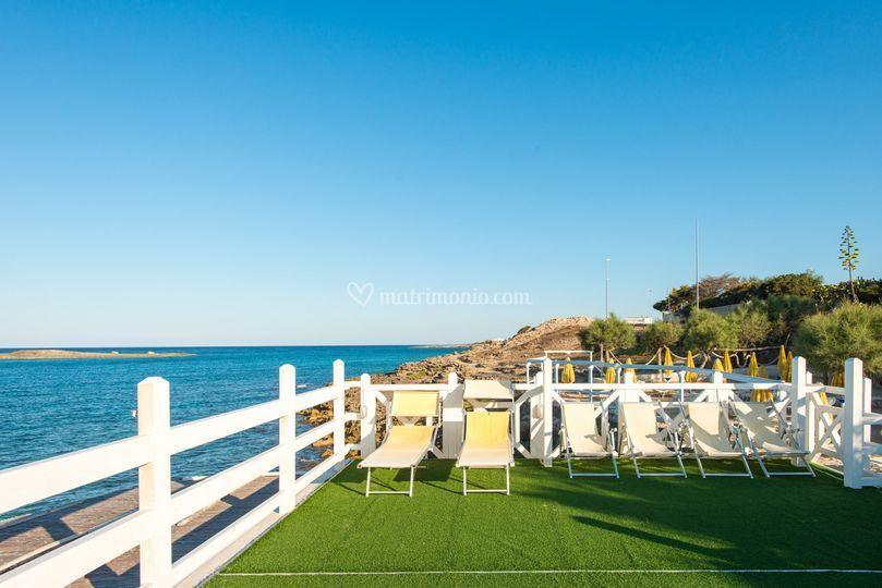Matrimonio In Spiaggia Ugento : Smeraldi lido marini ugento lecce foto di valeria de micheli
