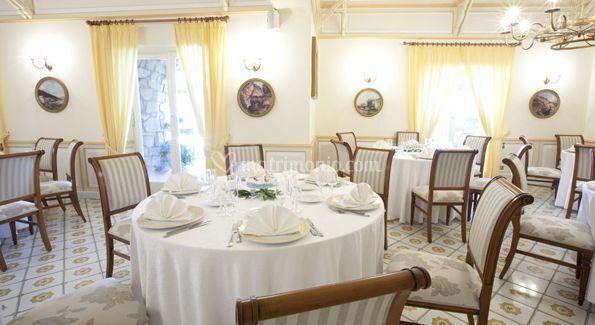 Tavolo in sala