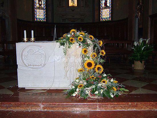 Matrimonio Girasoli Chiesa : Antonio trentini florar designer
