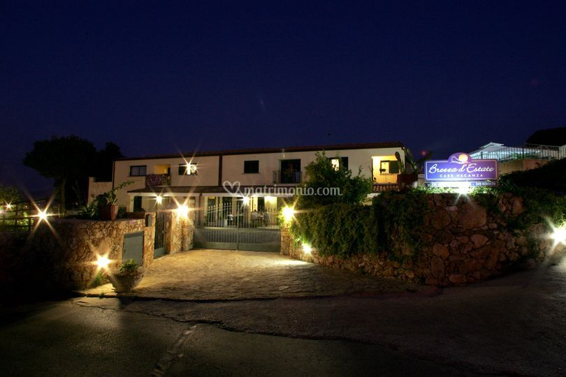 Il Residence di notte
