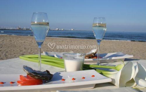 Tavolo in spiaggia