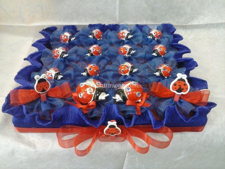 Torta p/confetti laurea