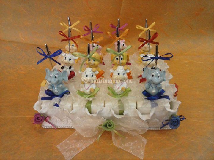 Torta p/confetti comunione