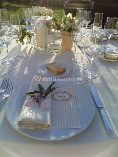Mise en place by wedding in el