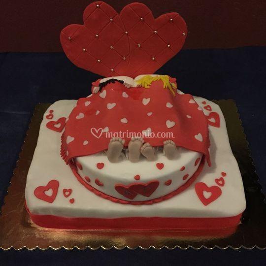 Cake romantica
