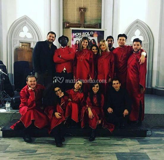 Il gruppo gospel