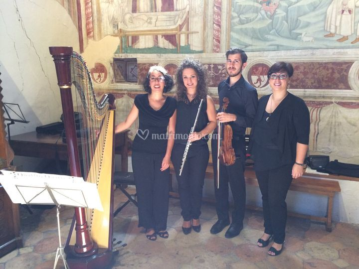 Quartetto al completo