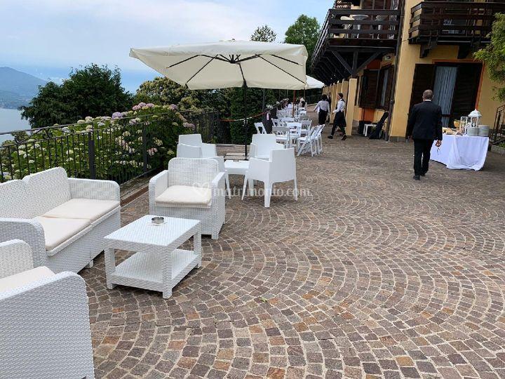 Allestimenti terrazza