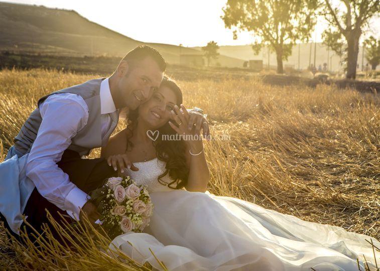 Dress wedding caltagirone