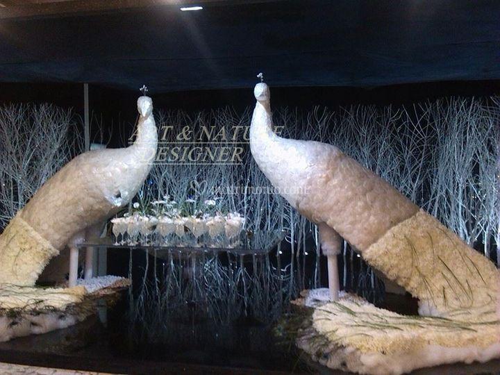 Tutto sposi fair naples di Art & Nature Designer