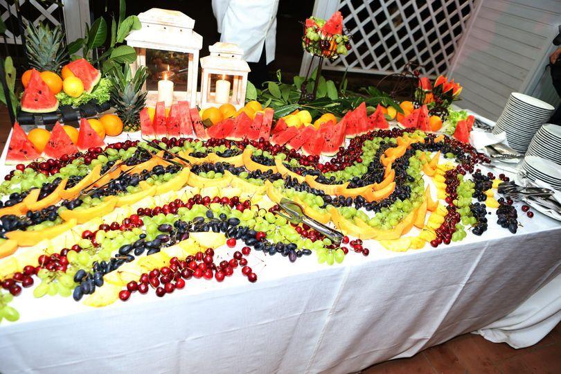 Castello Vinci -Buffet Frutta