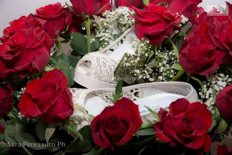 Fiori e scarpe