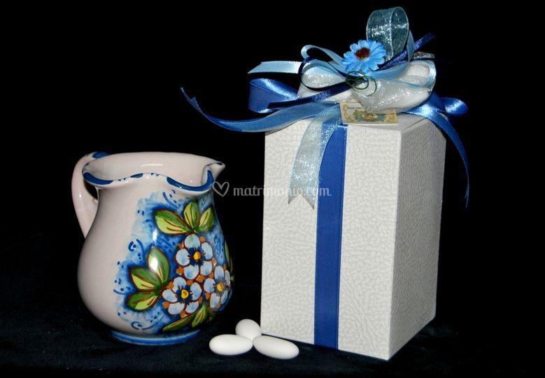 Bomboniere Matrimonio Ceramica Caltagirone.L Arte Della Bomboniera
