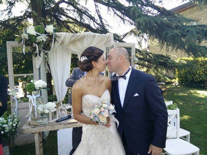 Matrimonio, raccolto