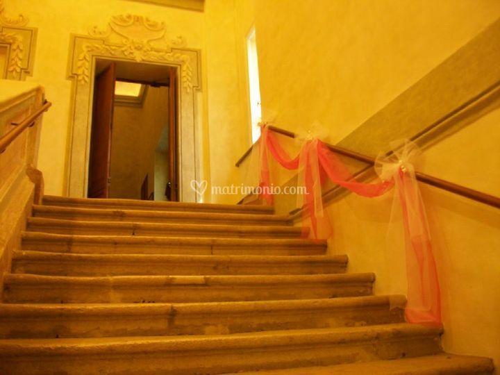 Decorazione semplice scalinata