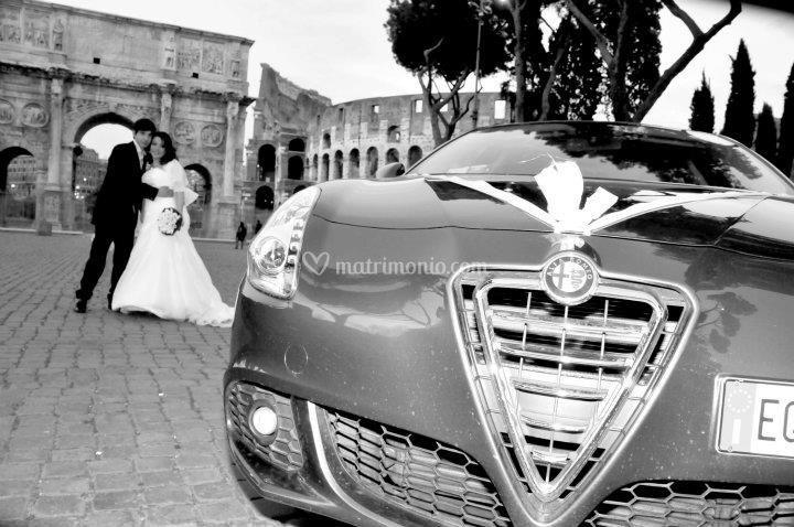 Sposi al Colosseo