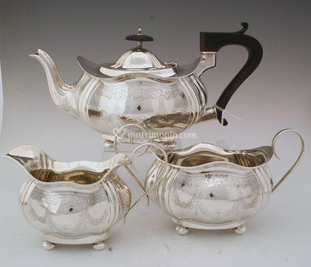 Set argento Londra 1898