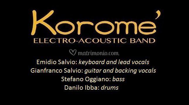 Korome' Quartet