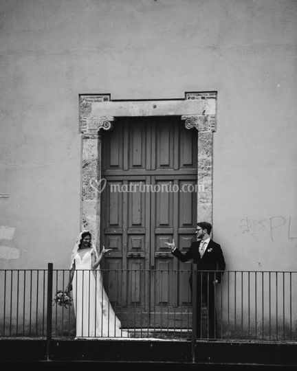 P&F wedding day