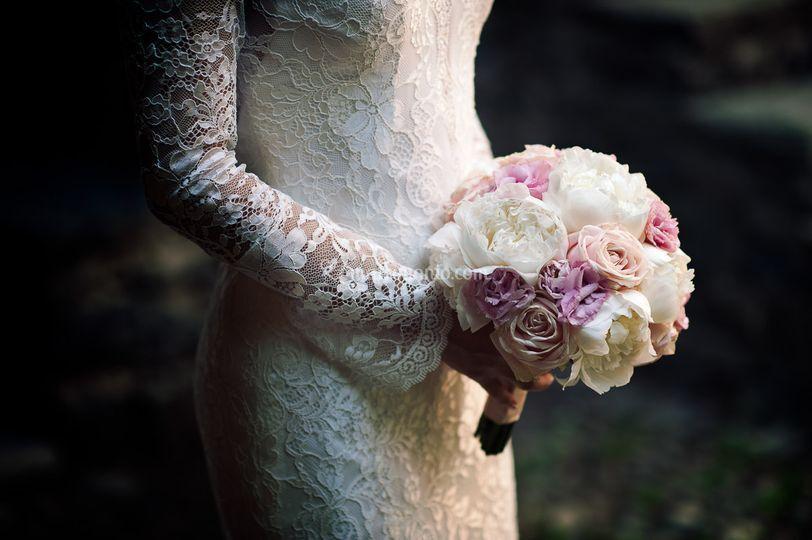 Bellissimo ed elegante bouquet