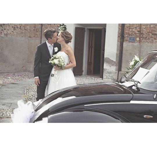 Un bacio dopo l'unione