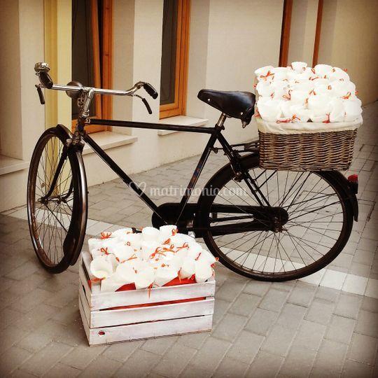 E per il riso... una bicicletta