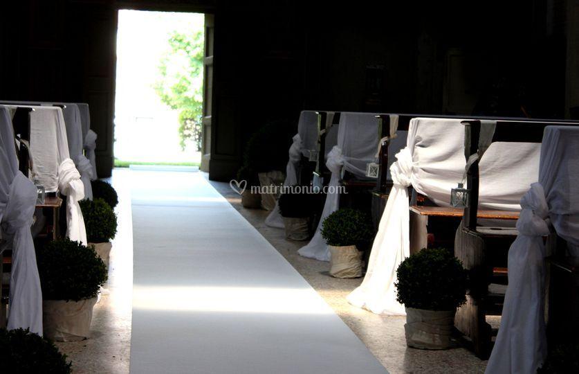 Matrimonio verde&bianco
