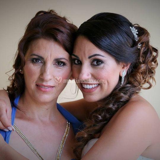 Trucco sposa+mamma