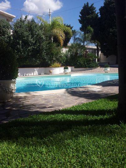 Altra veduta della piscina